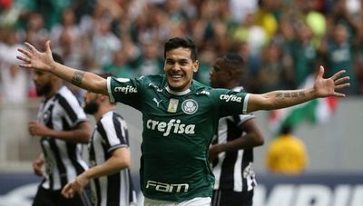 Gustavo Gómez rompió un récord en el Brasileirão