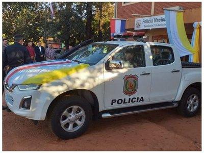 Comisaría de Liberación recibe una patrullera y un arma tras mega asalto