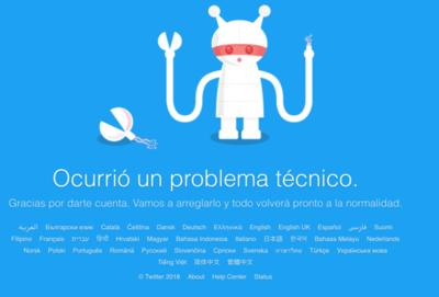 Se cayó Twitter