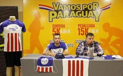 "Gran jornada deportiva de ""Vamos por Paraguay"""