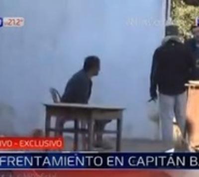 Un muerto y jefe narco detenido tras enfrentamiento a tiros