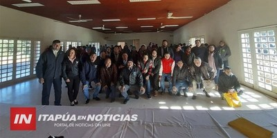 SANCOSMEÑOS SE CAPACITAN ANTE INMINENTE INICIO DE OBRAS EN AÑA CUÁ.
