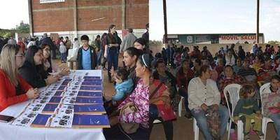 CONCLUYE CAMPAÑA DE REINSCRIPCION Y JUSTICIA MÓVIL EN ITAPÚA