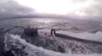 Video: Guardia Costa de EEUU detiene un narcosubmarino con toneladas de cocaína