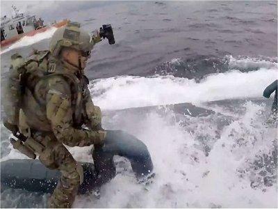 La extraordinaria intercepción de la Guardia Costera de EEUU a un narcosubmarino