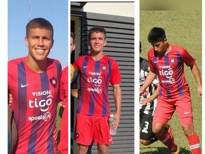 Tres misioneros campeones con Cerro Porteño en la Sub 18!!!
