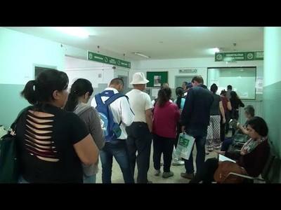 ENCARNACIÓN: ASEGURADOS DE IPS RESERVAN TURNOS, PERO LA MAYORÍA NO ASISTE