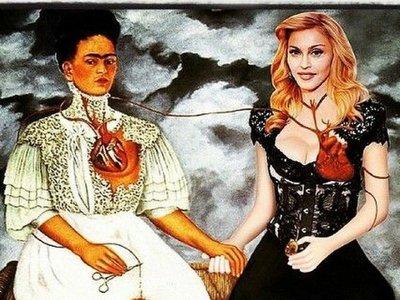 Madonna, una ferviente fan de la vida y obra de Frida Khalo
