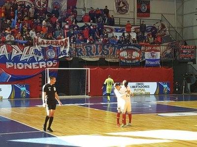 Ciclónico estreno de Cerro en Copa Libertadores de futsal