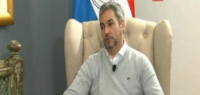 Mario Abdo fue escrachado en la Expo