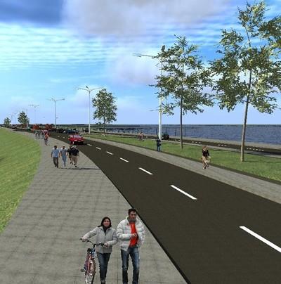 Costanera Sur tendrá Parque Lineal y permitirá tráfico más fluido