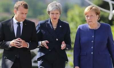 """Acuerdo nuclear: Alemania, Francia y Reino Unido piden """"parar la escalada de tensiones"""" entre EE.UU. e Irán"""
