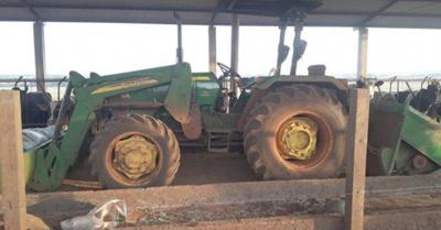 Mitã'i muere  arrollado por  un tractor anga