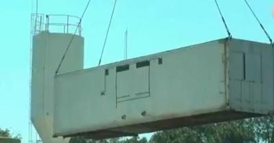 Adecuan 16 contenedores para alojar a presos de Ciudad del Este