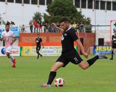 Libertad ganó con la mínima diferencia al Sportivo San Lorenzo