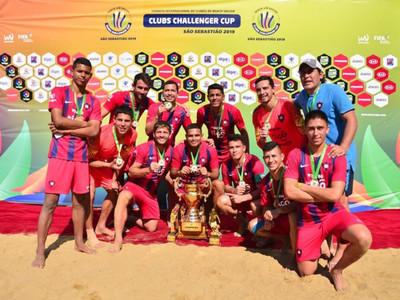 Cerro Porteño se consagra campeón del Clubs Challenge Cup