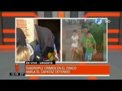 Capataz cuenta cómo fue el crimen y su esposa dice que fue violada por abigeadores