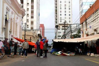 Conflicto campesino regresa a las calles de Asunción