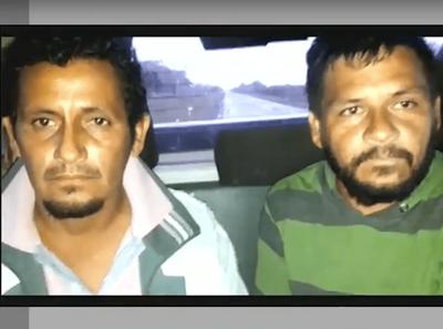 DETUVIERON SUPUESTOS AUTORES DEL MÚLTIPLE CRIMEN EN CHACO