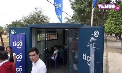 Tigo inaugura el primer Telecentro de la ciudad de Santa Elena en Cordillera