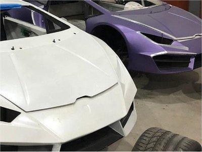 Policía brasileña descubre fábrica de autos de lujo falsificados