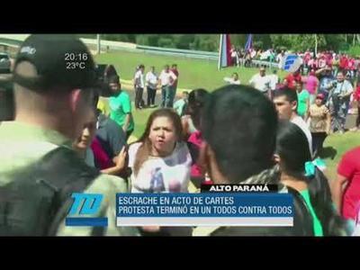 ARCHIVO| Horacio Cartes fue el Presidente más escrachado de la era democrática