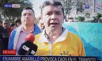 Caos se agudiza en zona de la Municipalidad de Asunción