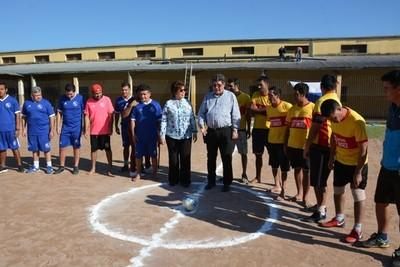 Inician temporada de torneo de fútbol en Penitenciaría Industrial Esperanza