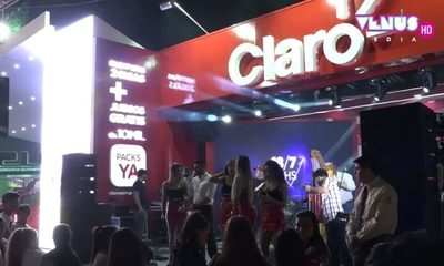 Claro presenta novedades en Expo de Mariano Roque Alonso