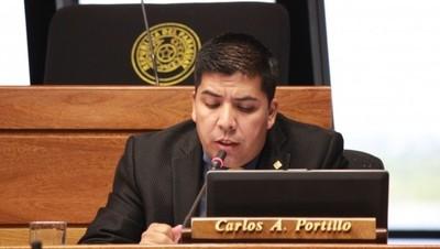 Los escrachadores son gente inescrupulosa que no tienen moral, afirma diputado Carlos Portillo