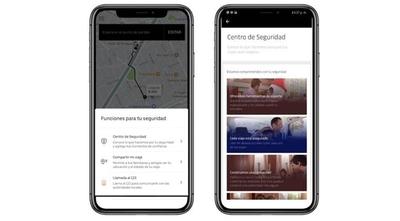 HOY / Cómo viajar en Uber sin sufrir  ataques: botones a apretar, ir  acompañado, usar tecnología