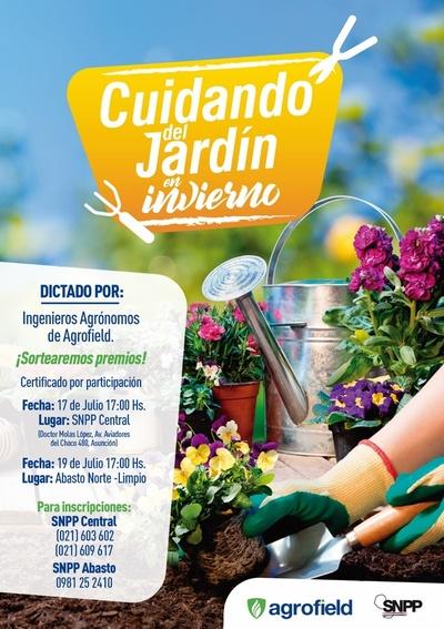 Nuevos cursos de jardinería en SNPP