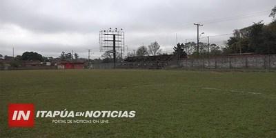 PROYECTAN ILUMINAR 4 CANCHAS DE FÚTBOL DE CNEL. BOGADO