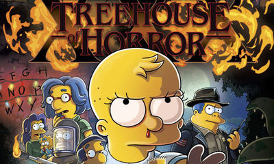 """Los Simpson homenajearán a """"Stranger Things"""" en el especial de Halloween """"La Casita del Horror XXX"""""""