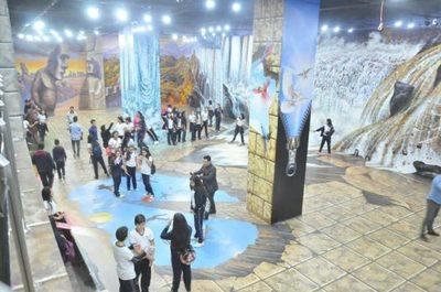 Unas 20.000 personas disfrutaron del único Museo 3D de Paraguay