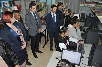 Ministerio de Justicia habilita el primer Infocentro Digital del sistema penitenciario