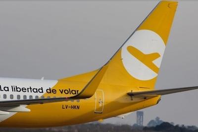 Flybondi renueva una de sus aeronaves
