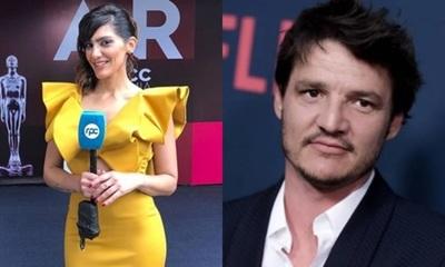 Lucia Sapena y una respuesta en twitter del actor de Hollywood Pedro Pascal