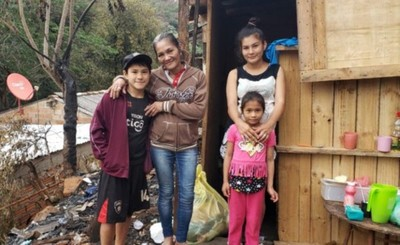 Solicitan ayuda para reconstruir vivienda consumida por incendio