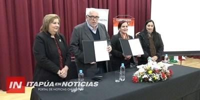GOBERNACIÓN Y LA SFP FIRMARON CONVENIO INTERINSTITUCIONAL