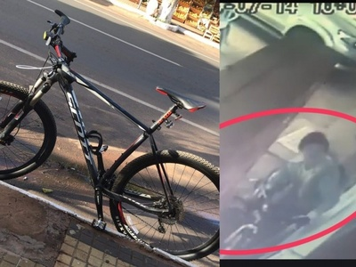 Inseguridad en San Ignacio; este fin de semana también su hurtó una bicicleta
