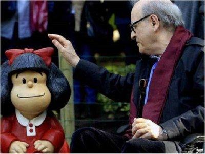 Quino, creador de Mafalda cumplió 87 años