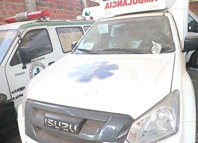 Ambulancias del Indi que costaron G. 960 millones duermen en el SEME
