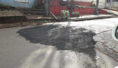 Ciudadanos bachean calles