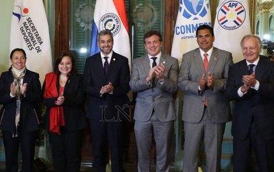 """""""Paraguay está listo"""" para ser parte de la organización del Mundial 2030"""