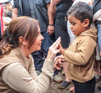 Primera Dama anuncia construcción de espacio de desarrollo infantil y USF en Guairá