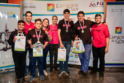 El Torneo de Robótica PYBOT 2019 ya tiene sus campeones nacionales