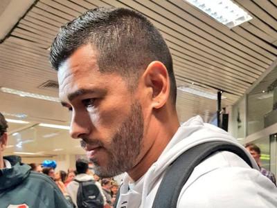 Miguel Samudio llega para firmar por Olimpia