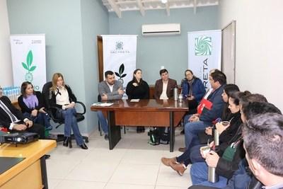 INICIAN GESTIONES PARA DECLARAR ÁREA DE RESERVA URBANA PROPIEDADES ADYACENTES AL POTI´Y