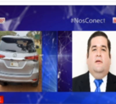 Incautan camioneta robada con chapa del Congreso